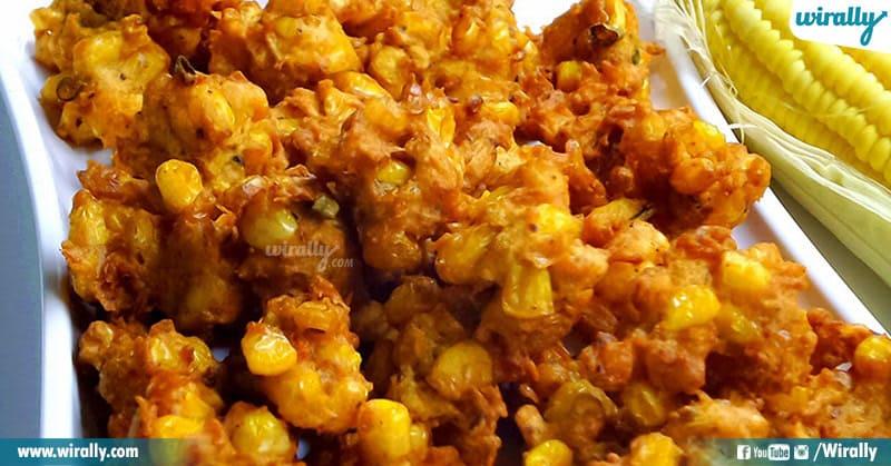corn pakodi