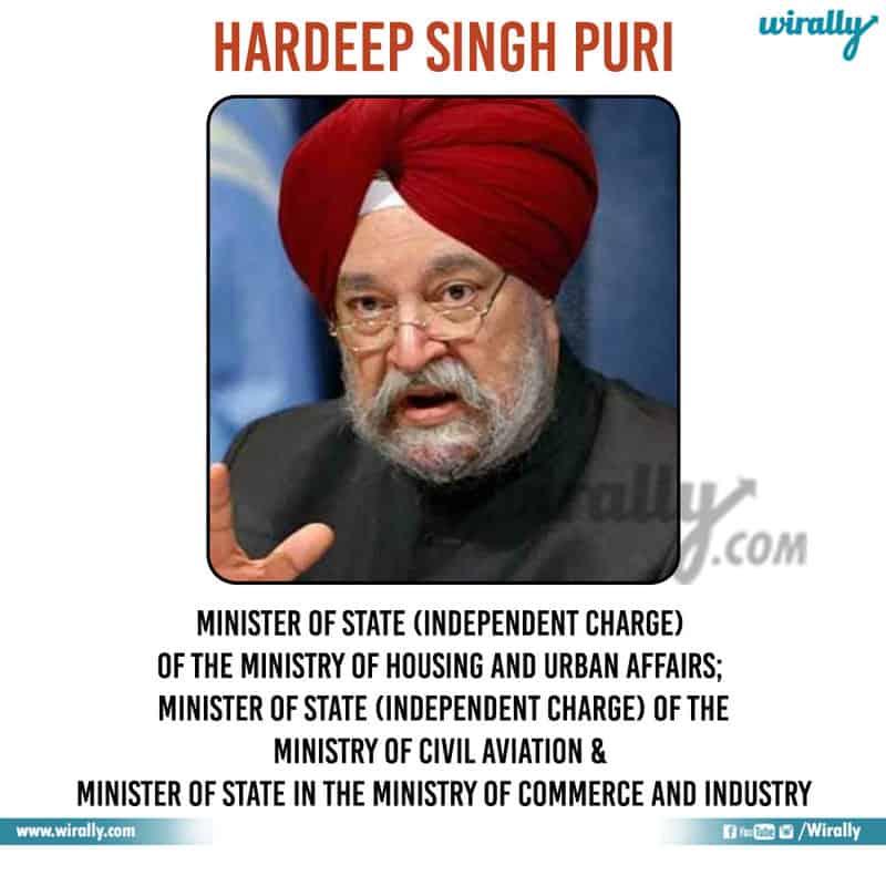8 - Hardeep Singh Puri