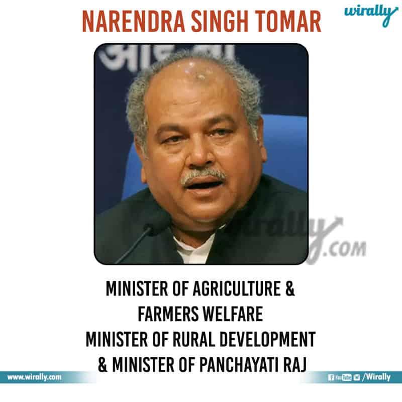 8 - Narendra Singh Tomar