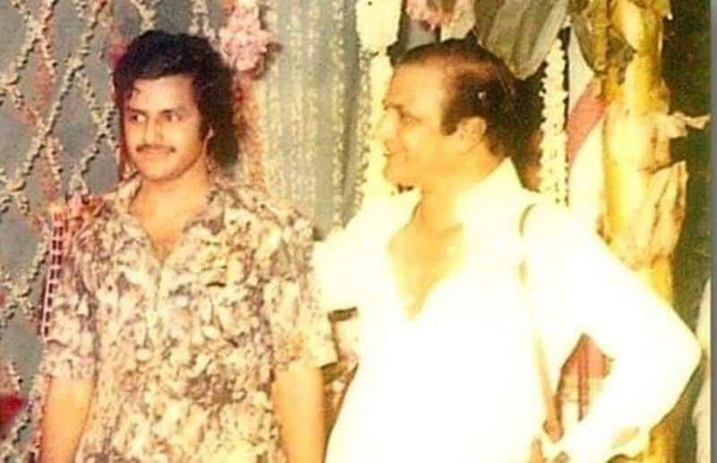 8. Balakrishna young age pic with Sr NTR