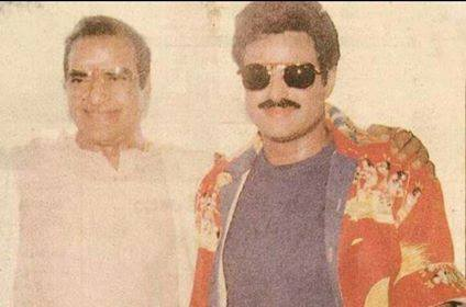 9. Balakrishna young age pic with Sr NTR