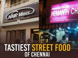 Best Places to Munch on Some Tasty Food from The Streets of Chennai