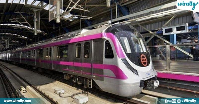 First Driverless Train In India