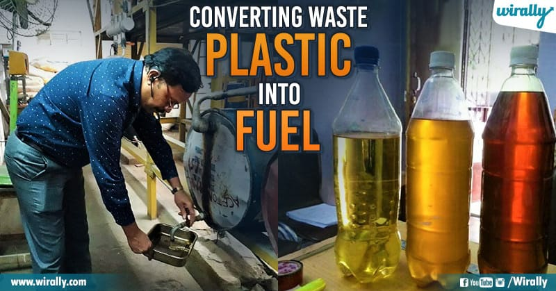 Meet Hyderabad Prof  Satish Kumar Who Is Making Fuel Out Of