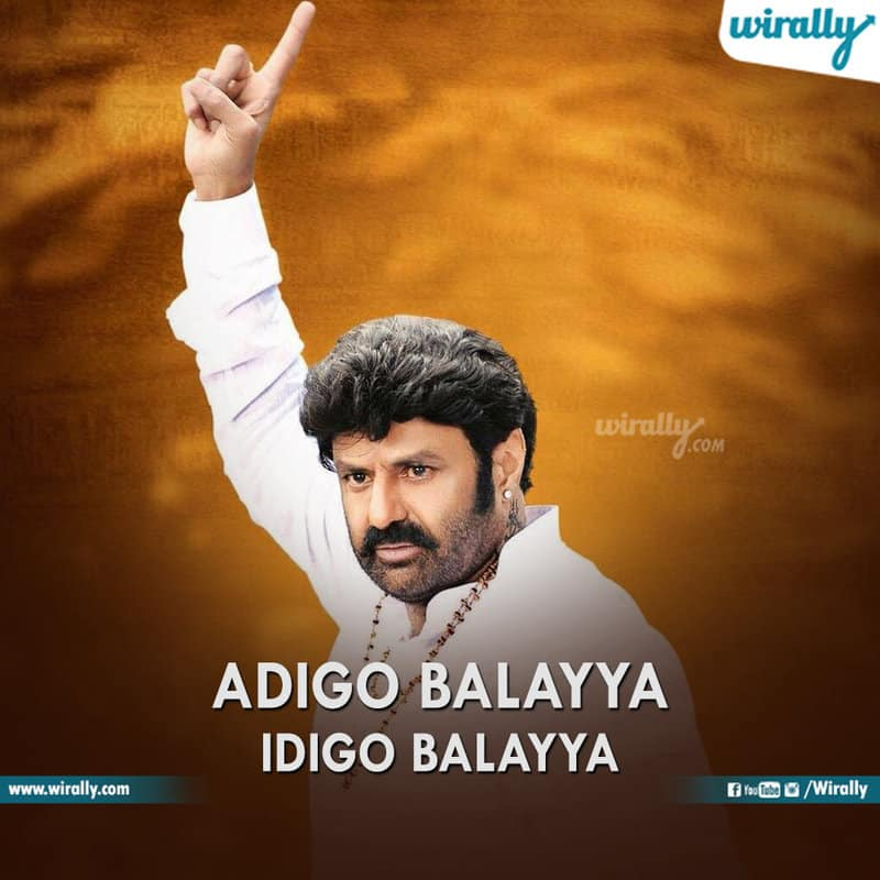 balayya babu slogans