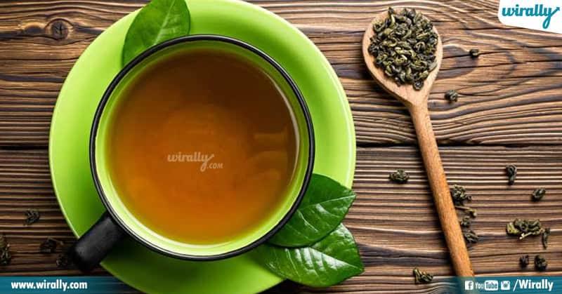 1 - green tea