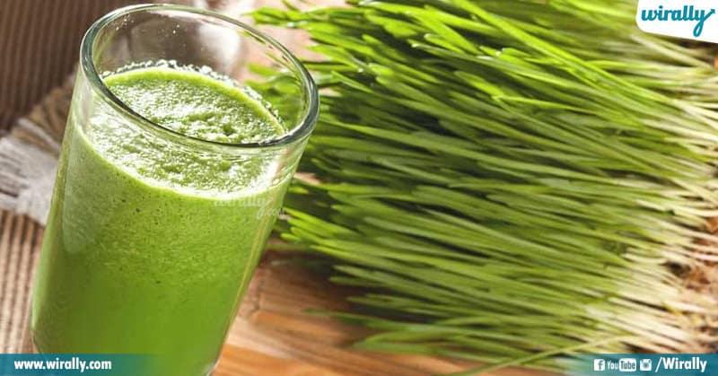 5 - wheat grass water