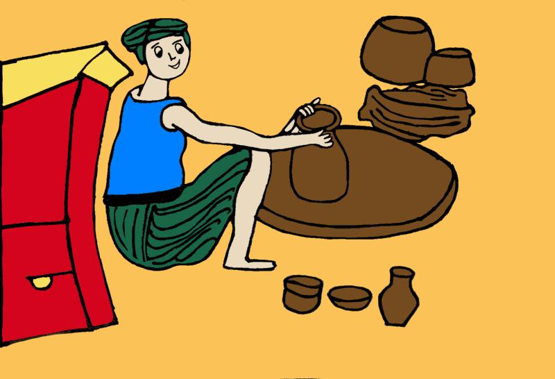 Village Cartoons