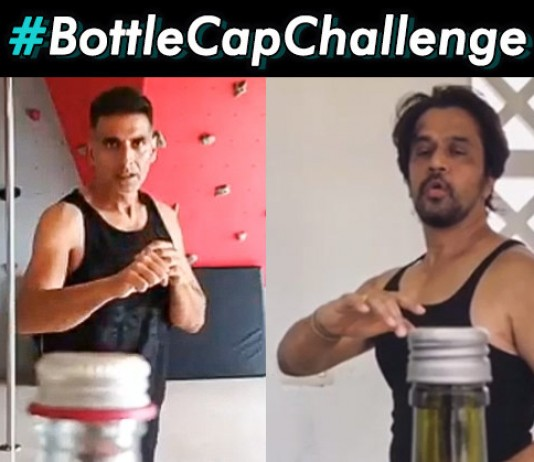 Akshay Kumar To Arjun New Bottle Cap Challenge Is Taking Over The Internet - Web