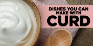curd dishes