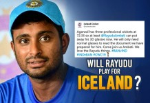 Why Iceland Offered Permanent Residence for Rayudu & Heres How Twitterati Responded On His Retirement - Web