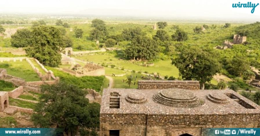 Bhangarh Fort Deaths - a view from top