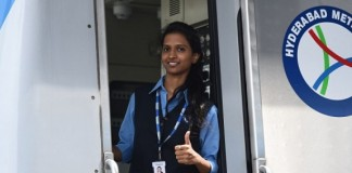 first woman metro train driver