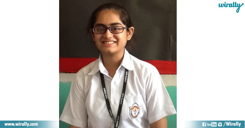 Stuti Khandwala in uniform