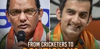 successful cricketers who are as successful in politics - Web