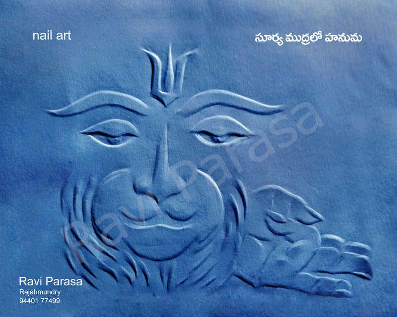 02- Ravi Parasa Nail Art