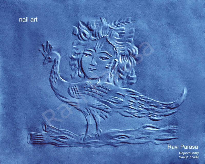 03- Ravi Parasa Nail Art