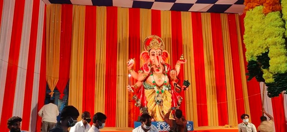 1. Khairatabad Ganesh