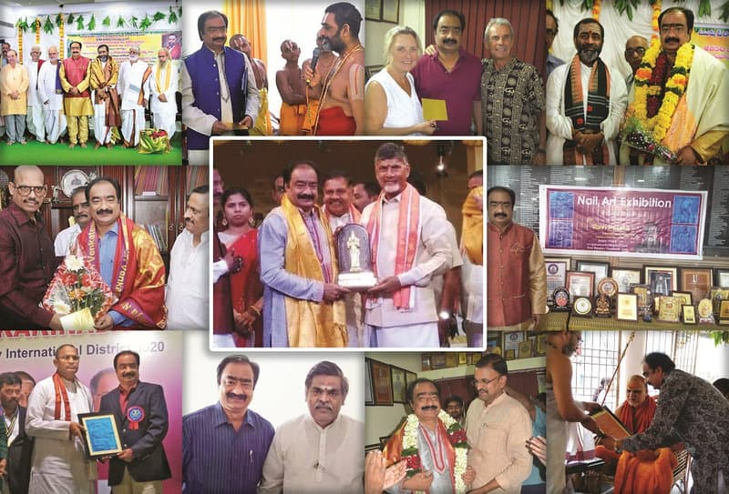 10- Ravi Parasa Nail Art