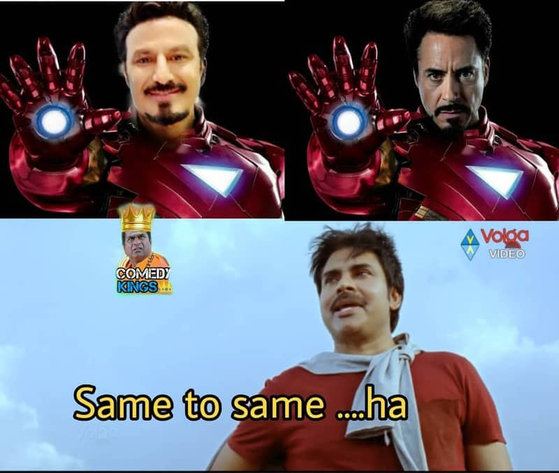 14. Balayya as Tony Stark