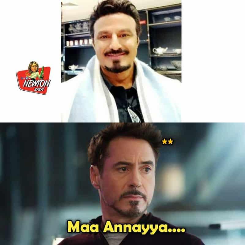 17. Balayya as Tony Stark
