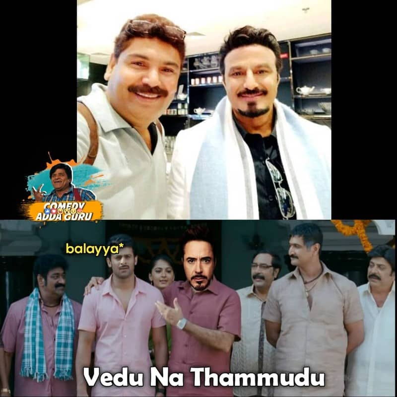 18. Balayya as Tony Stark