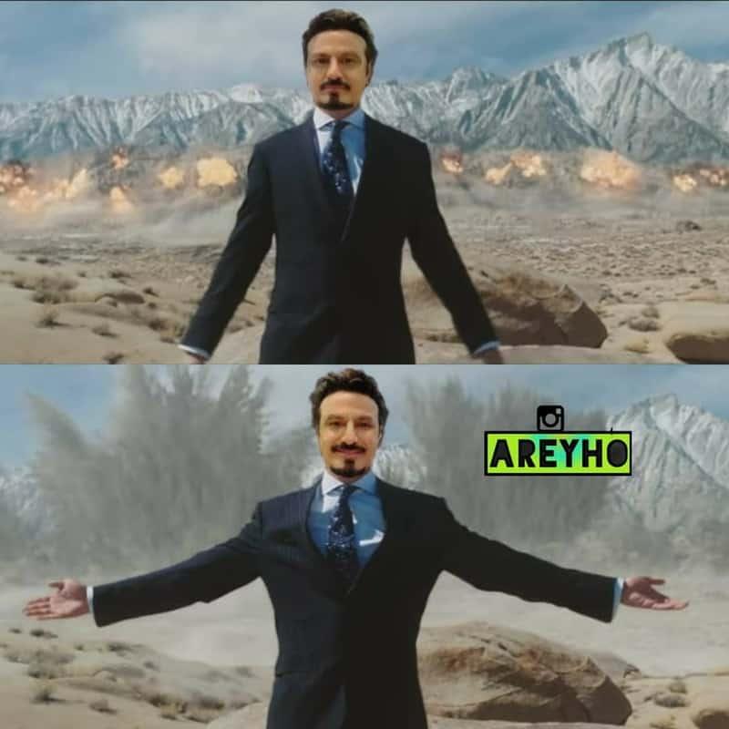 2. Balayya as Tony Stark