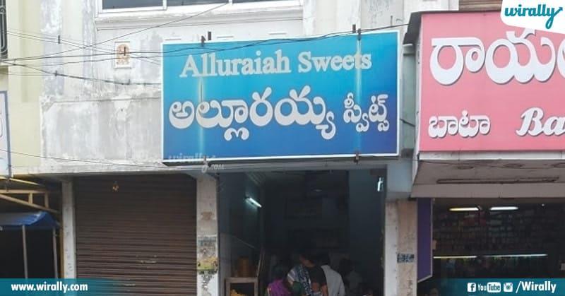 Alluraiah Sweets -Mithai Shop