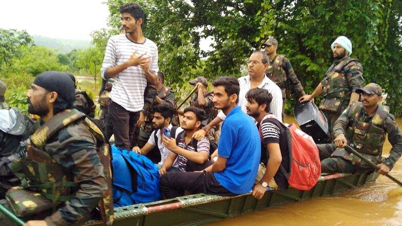 3. Indian Army at Maharastra Floods