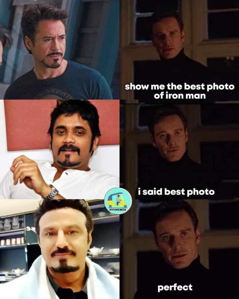 4. Balayya as Tony Stark