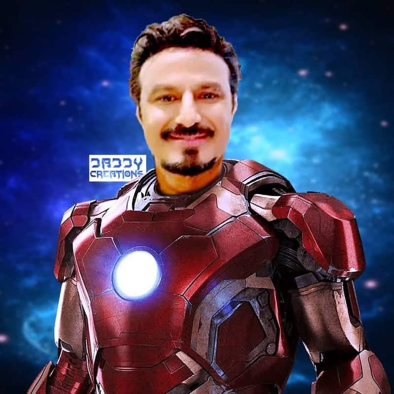 5. Balayya as Tony Stark
