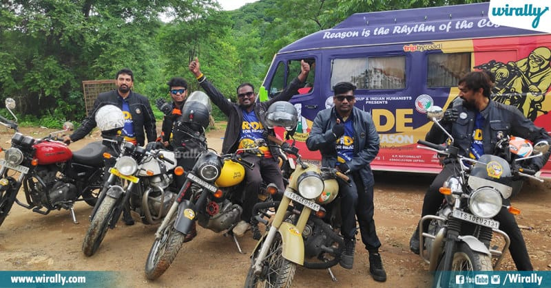 ride for resaon