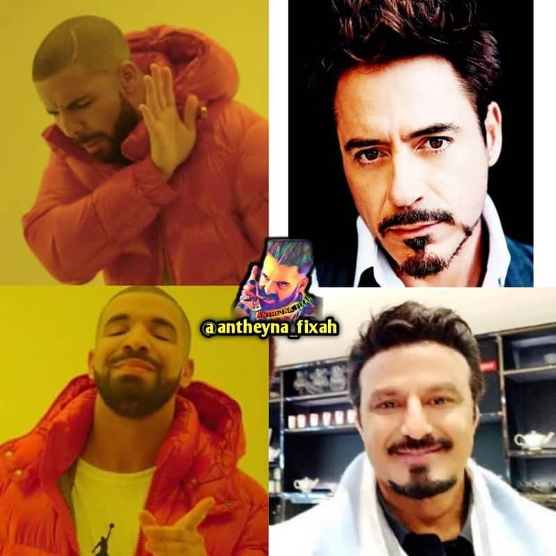 9. Balayya as Tony Stark