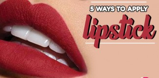 5 Ways To Apply A Lipstick