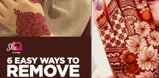 Natural Ways For Removing Mehndi