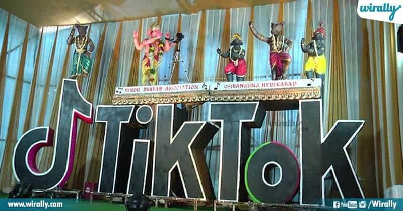 Tik-Tok Ganesh in Osman Gunj