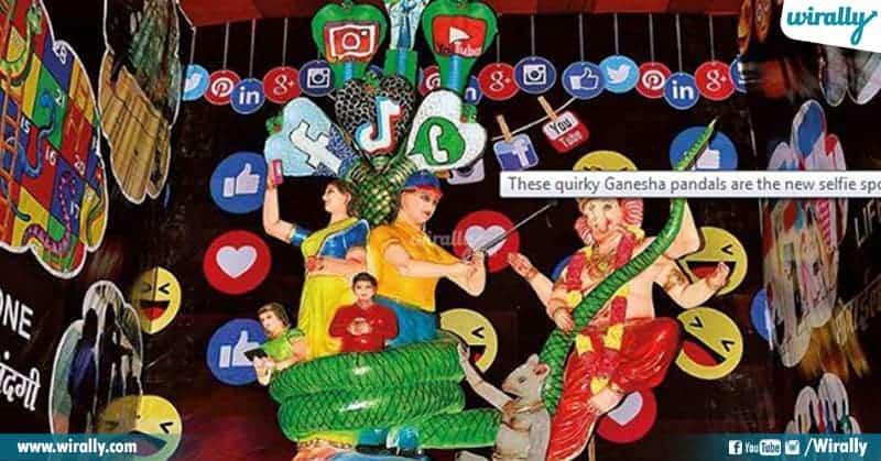 Social Media Ganesh in Hyderabad