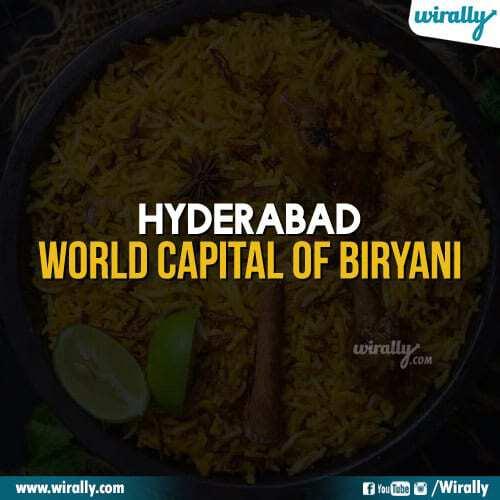 Hyderabad - World Capital of Biryani