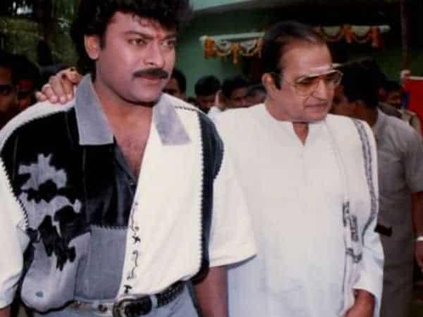 Chiranjeevi With Nt Rama Rao Garu During Movie Launch