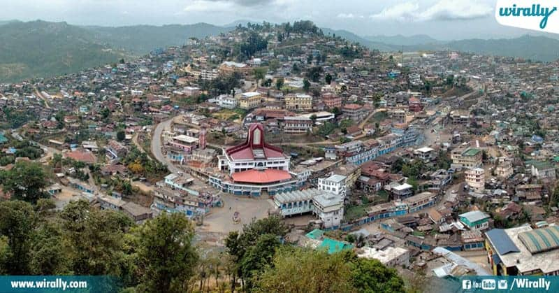 Mokokchung Village And Kohima In Nagaland