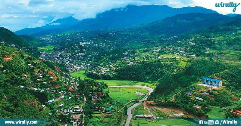 Imphal And Senapati In Manipur