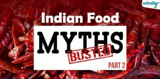 Indian Food Myths