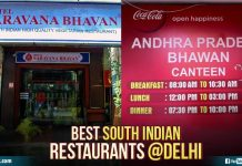South indian restaurents