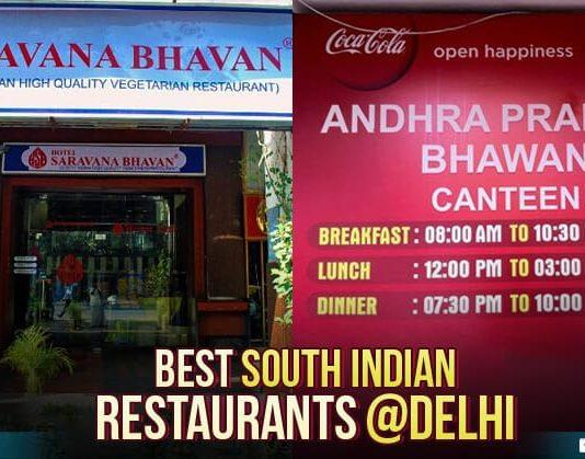 South indian restaurents