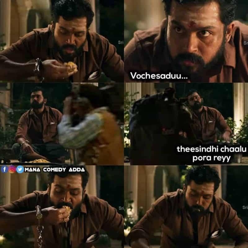 Karthi Biryani Memes