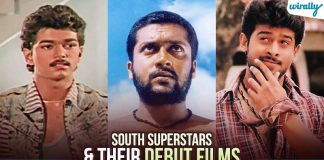 Debut Films Of Actors From The South Indian Film Industry