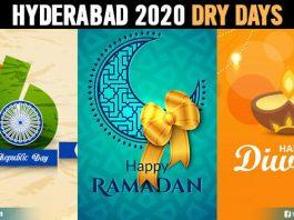 Dry Days In Hyderabad