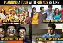 Friends Tour Plans
