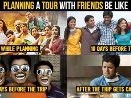 Friends Tour Plans