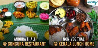 Indian Thalis